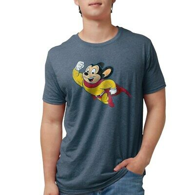 1054535430 CafePress Mighty Mouse T Shirt 100/% Cotton T-Shirt