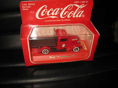 1/43 Solido Coca Cola  Ford V8 Pick Up Plateau 1936 Red  Old  Shop Stock