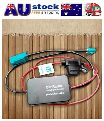 ANT-208 Car Auto Antenna Radio FM AM Signal Booster Amplifier 12V For Volkswagen