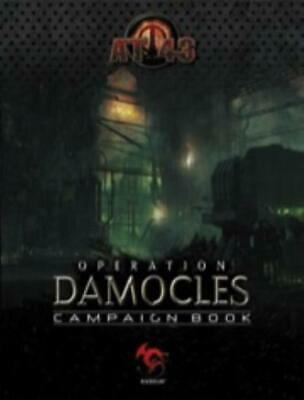 Rackham AT-43 Operation Damocles Campaign Book SC NM