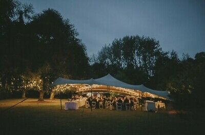 stretch tent wedding marquee package available up to 150 seated