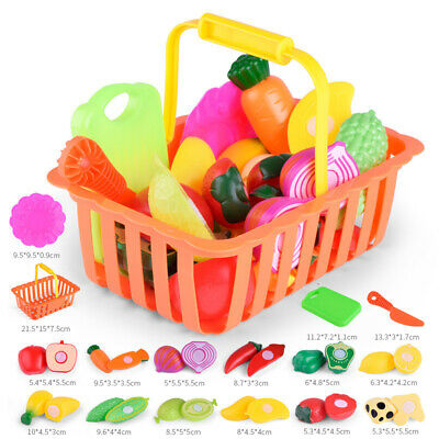 Children Kids Pretend Role Play Toy Tools PCS Kitchen Cutting Gift Good 2018