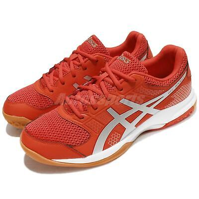 56a8240f95c92 Asics Gel-Rocket 8 VIII Cherry Tomato Men Volleyball Badminton Shoes  B706Y-0693