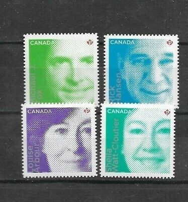 pk41747:Stamps-Canada #2550i-2553i Difference Makers 'P' Rate Issues - MNH