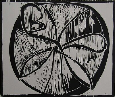 LISTED Pierre Alechinsky AUTHENTIC Signed & #'d Expressionist Woodcut #2 NO RES.