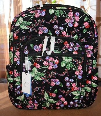 11292ab3b380 Vera Bradley Campus Tech Backpack Winter Berry Msrp  108 NWT Ship FAST!
