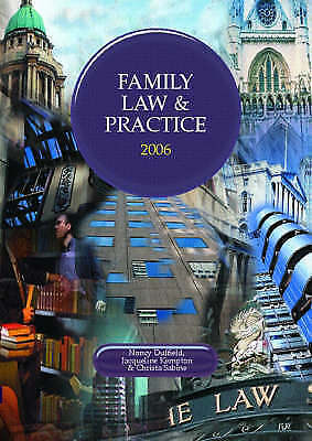 Family Law and Practice 2005/2006 (Lpc), Kempton, Jacqueline,Sabine, Christa,Duf