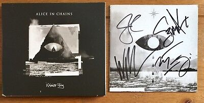 Alice In Chains - Rainier Fog Cd Signed Autographed