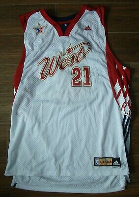 Nba All Star 2008 Tim Duncan Adidas Jersey 2Xl new Orleans san Antonio Spurs f35a8436d316c