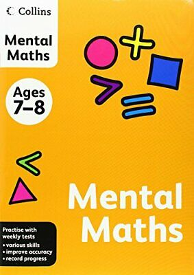 Collins Practice - Collins Mental Maths: Ages 7-8 by , NEW Book, FREE & Fast Del