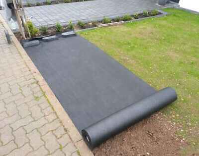 New Weed Control Fabric Gardening Plant Ground Cover 8M 17G Sq Landscape Mulch