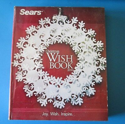 2010 Sears Canada Christmas Wish Book Catalog 860 Pages