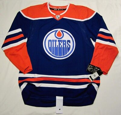 EDMONTON OILERS size 46   Small - Alternate 3rd Style ADIDAS NHL HOCKEY  JERSEY f83f93273
