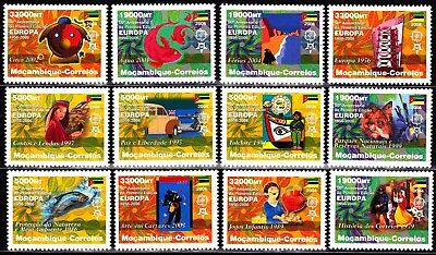 EUROPA CEPT - 2006 - Mozambique - perf. (complete set of 12) ** MNH