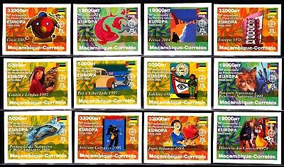 EUROPA CEPT - 2006 - Mozambique - imperf. (complete set of 12) ** MNH