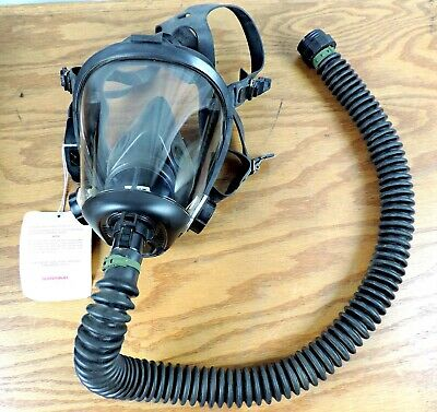 Honeywell Survivair Opti-Fit Covertible Faceplate Respirator Mask 7640 420030 M