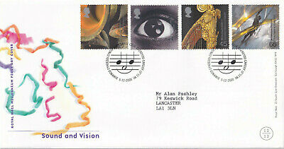 (24452) GB FDC Sound & Vision Cardiff 5 December 2000