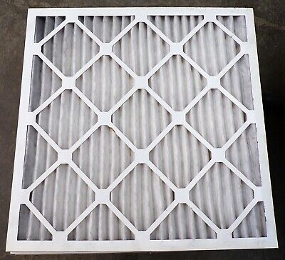 "Delta Pleated Air Filter, 20X20X1, 20"" X 20"" X 1"", Lot Of 6"