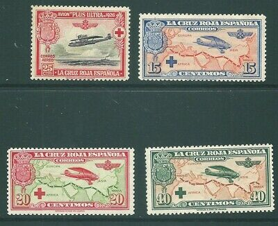SPAIN mint Red Cross Air stamps