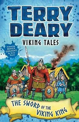 Viking Tales: the Sword of the Viking King by Terry Deary Paperback Book Free Sh