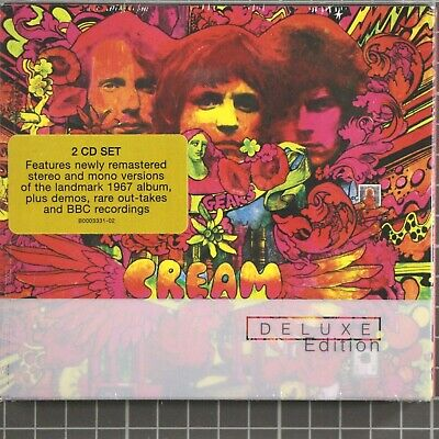 Disraeli Gears [Deluxe Edition] [Remaster] [Slipcase] by Cream (CD, 2004 Sealed
