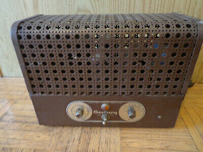 Seeburg Auxiliary Remote Amplifier Type ARA1-L6 Parts or Restore