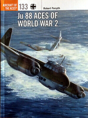 Osprey Aircraft of the Aces Series #133 Ju88 Aces of World War 2