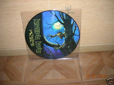 Iron Maiden - Fear Of The Dark Lp Picture Disc Ultrarare & Great Collector !!!