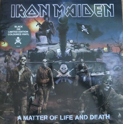 Iron Maiden - A Matter Of Life And Death 2Lp Ultrarare & Great Collector !!!