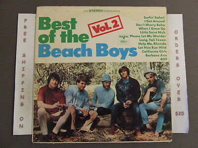 Best Of The Beach Boys Vol. 2 Greatest Hits Lp Don't Worry Baby/california Girls
