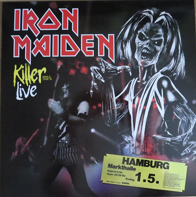 Iron Maiden - Killers Tour Show 2Lp Ultrarare & Great Picture Disc Collector !!!