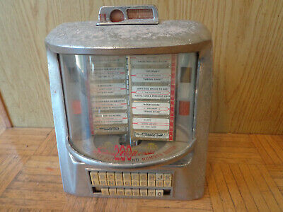 Seeburg 3WA Wallbox 1950's 200/160 Selections for Parts or Restore