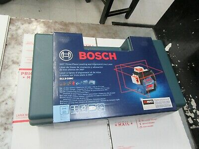Bosch GLL3-330C Three Plane Leveling & Alignment Line Laser Brand New