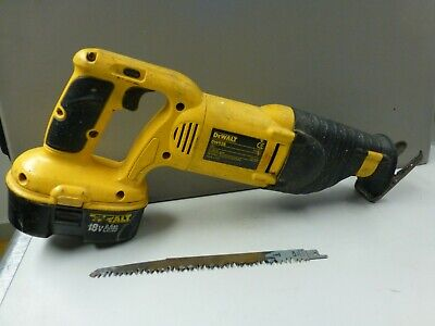 Dewalt Dw938 18V Cordless Reciprocating Saw  Body & Battery Only