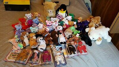 Ty beanie baby lot (all mint with tags still attached but one) list attached.