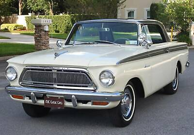 1963 AMC AMERICAN 440H COUPE - RARE BUCKETS - TWIN SHIFT OVERDRIVE - A/C RARE MODEL - TWIN SHIFT OVERDRIVE - 1963 Rambler 440H Coupe - A/C - 5K MI