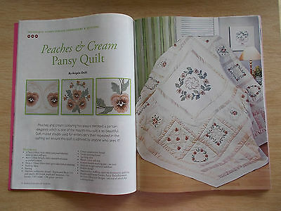 Machine Embroidery & Textile Art Vol 18 #11~Quilts~Bra Bag~Waratah~Easter~