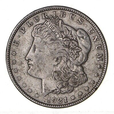 1921 - Morgan Silver Dollar - Last Year - 90% - US Coin *120