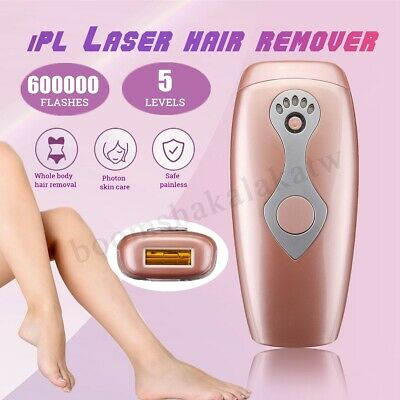 5 Gear Laser IPL Permanent Hair Removal Epilator Painless Face Body 600000 Times