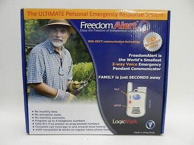 LogicMark Freedom Alert Personal Emergency Response System 35511 No Monthly Fees