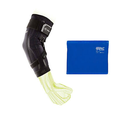 92abc93a93 DonJoy Performance Bionic Elbow Brace II (Extra Large) and Ice Pack (11 x