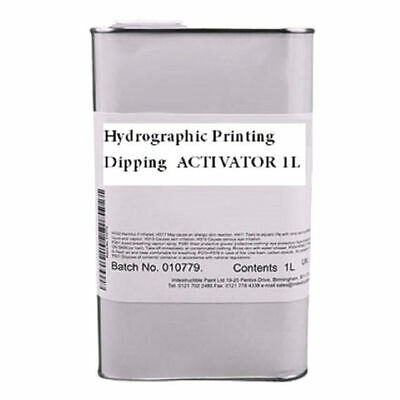 Hydrographic Printing Dipping  ACTIVATOR 1L