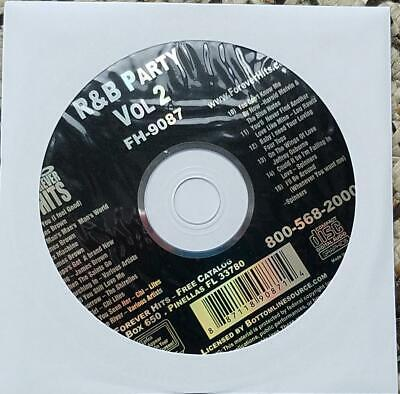 R&b Party Karaoke Cdg Fh9087 Cd+G James Brown,shirelles,chi Lites,spinners
