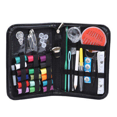 Economic Black Sewing Kit Cross Stitch Embroidery Sewing Kit Sewing Box Bag BS