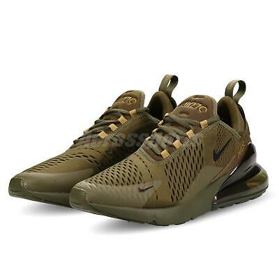 db2f0f079008d Nike Air Max 270 Olive Canvas Black Men Running Casual Shoes Sneakers  AH8050-301