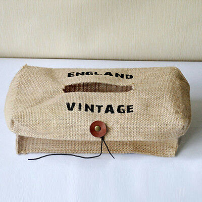 Tissue Holder Linen Boxes Paper Cover Towel Napkin Storage Bags BS
