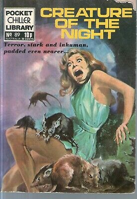 POCKET CHILLER LIBRARY No 89 - Creature of the night