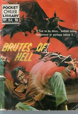POCKET CHILLER LIBRARY No 84 - Brutes of Hell
