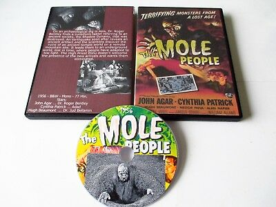 The Mole People (Dvd,1956) John Agar, Cynthia Patrick, Hugh Beaumont