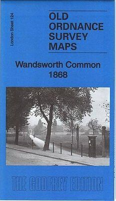 Map Of Wandsworth Common 1868